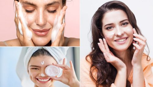 Different Types of Skin Care Products and Routine